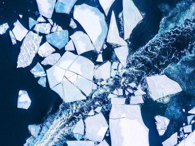 sammet - jäälautta